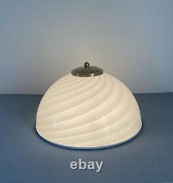 1 di 2 lovely wall/ceiling lamp swirl Murano glass lampada vintage'60 U