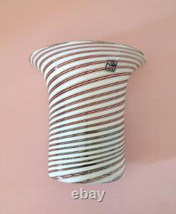 1 di 2 lovely wall lamps DE MAJO swirl filgrana Murano glass vintage 70 U