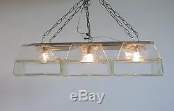 1970's vintage Mazzega Murano glass ceiling Carlo Nason style