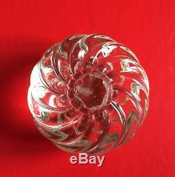 6 vintage 1940 Murano glass knobs pulls Venini Barovier Seguso