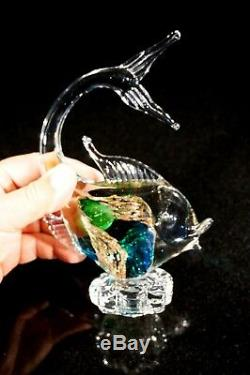 A Beautiful Vintage Murano Glass Fish