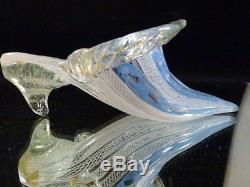 ANTIQUE / VINTAGE. 20th C MURANO VENETIAN ITALIAN ART-GLASS SHOE