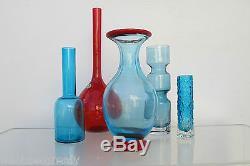 Acid Mark- MURANO Vintage Vase. 1950s. RARE studio piece. Could be Venini