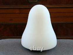 Carlo Nason design Ghost table lamp vintage frosted glass Murano light
