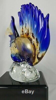 Exceptional Vintage Italian Murano Art Glass Fish