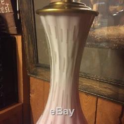 Handmade In Murano Italy Venetian Glass Lamp Vintage Italian Mid Century Modern