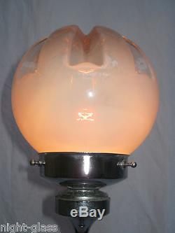 Haute Lampe Design Années 70 Verre Murano/vintage Murano Glass Lamp/n°b52
