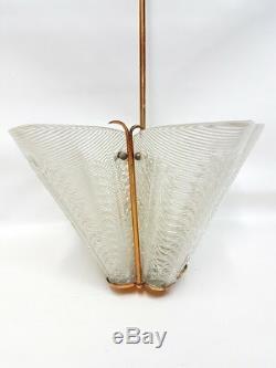 Lampadario vetro murano anni 50- murano vintage modernariato pendant glass