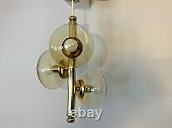 Murano Glass Sputnik Space Age Chandelier Ceiling Light Mid Century 1960s