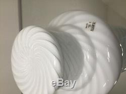 Murano white mushroom lamp swirl glass lampada fungo spirale vintage70 U