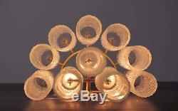 Nr. 02 Italian vintage Murano glass appliques in Venini Mazzega style