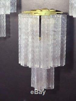Nr. 03 Italian vintage Murano glass appliques in Venini style