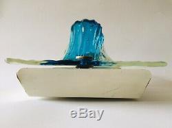 Rara Applique Quilt design Toni Zuccheri per Venini 1967 Murano glass vintage
