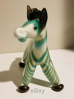 Rare Dino Martens Vintage Murano Horse