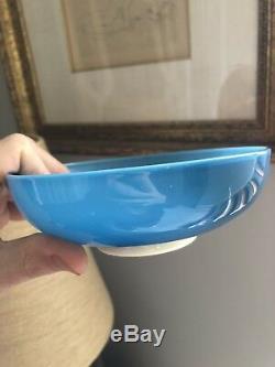 Signed Vintage Tomaso Buzzi Venini Italian Glass Bowl Murano
