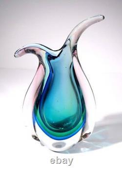 Stunning Murano Vintage Sommerso Vase