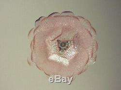 Talian vintage Murano Glass chandelier 38 pink glasses