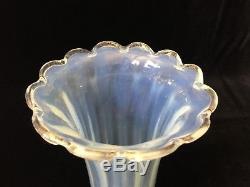 VTG Murano Italy Art Glass Lamp Shade Iridescent Aventurine, 5 1/2 W x 8 1/2 H
