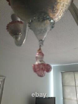 Venician Murano Glass Vintage Chandelier