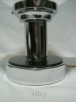 Vintage 60s MCM Mazzega Murano Italian Art Glass Space Age Table Lamp Retro
