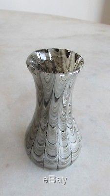 Vintage BAROVIER & TOSO'Neolitico' Murano Art Glass Vase FREE SHIPPING