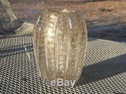 Vintage Barbini Venetian Murano Glass Vase Italy