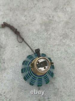 Vintage Blue and Green Seguso Murano Lamp