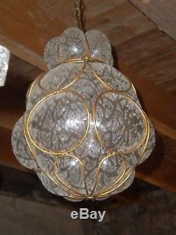 Vintage Ceiling light Murano italian glass type