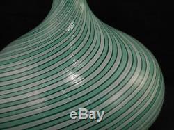 Vintage Dino Martens Mid-Century ModernMCMMurano Art Glass Swirl LampVGC