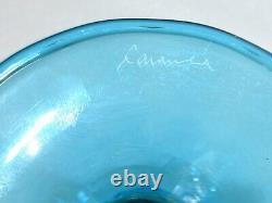 Vintage Exceptional Large Italian Signed Murano Venetian Art Glass Goblet