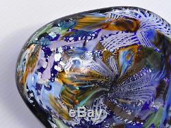 Vintage Italian Murano Glass Bowl, Tutti Frutti, 1950s Arte Vetraria Muranese