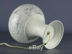 Vintage Lamp Design Mushroom Atomic Glass Murano & Aluminium Years' 60