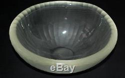 Vintage MURANO Art Glass Battuto Ovoid Bowl