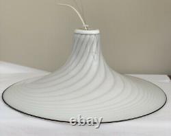 Vintage MURANO Italian Art Glass Pendant Ceiling Light Chandelier Italy