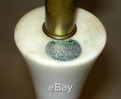 Vintage Mid Century Murano Venetian Art Glass Bullicante Aventurine Marble Lamp