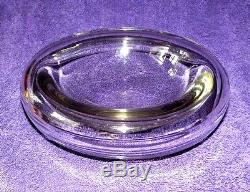 Vintage Modernist Glass Bowl By Alfredo Barbini, Murano, Italy