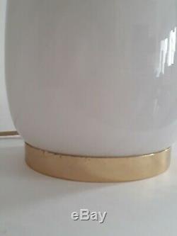 Vintage Murano Egg Glass Table Lamp 1960s
