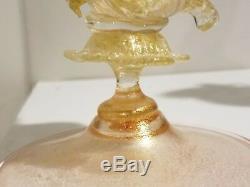 Vintage Murano Glass Fish Vase By Salviati