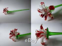 Vintage Murano Glass Flowers