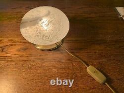 Vintage Murano Table Lamp, Swirl Glass+Original Vetri Label