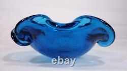 Vintage Retro Italian Murano Art Glass Bowl