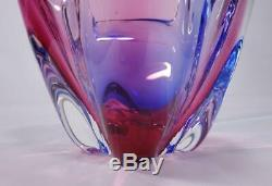 Vintage Retro Italian Murano Art Glass Bowl Vase